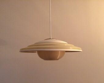 Reserved Mid century Heifetz Rotaflex lamp - pendant lamp - design light - vintage - retro - fifties