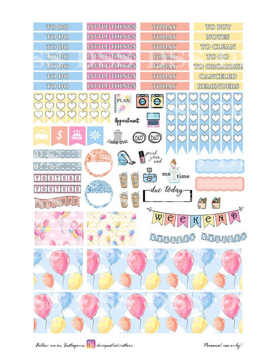 happines printable planner stickers for erin condren lifeplanner mother 39 s day printable weekly. Black Bedroom Furniture Sets. Home Design Ideas