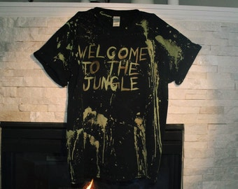 Welcome to the Jungle Guns N Roses shirt