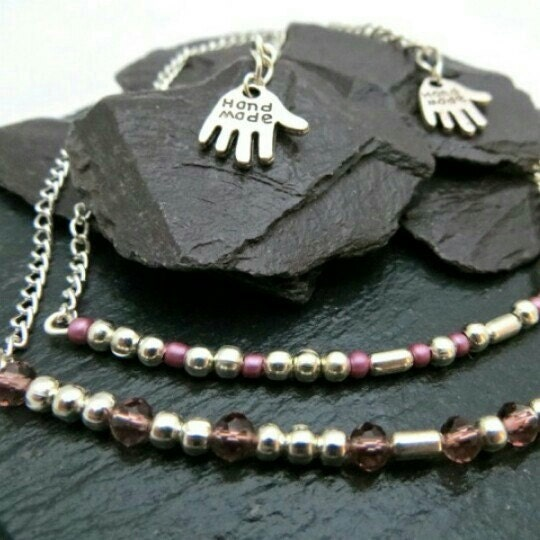 Sister morse code necklace secret message jewelry for Code postal charmes
