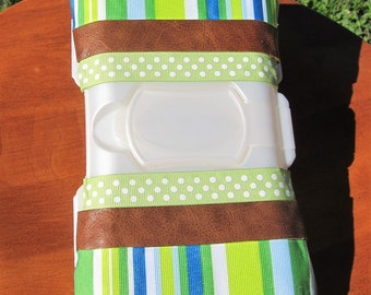 Thumbprints Travel Wipes Case