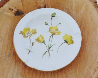 Vintage Spode Summer Meadow Dish