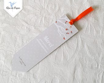 Box of thanks in bookmark - squirrel Theme
