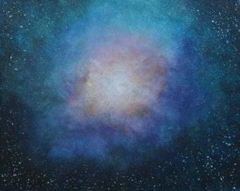 And Beyond-galaxy-sky-nebula-original painting