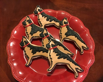 German Shepherd Dog Cookies