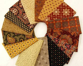 Fabric 16 Fat Quarters Bundle