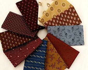 Fabric 12 Fat Quarters Bundle