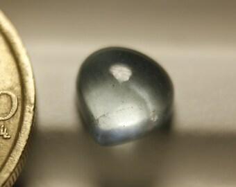 Dreamy pear cut aquamarine cabochon 2.2ct 8 x 7mm