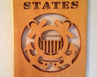 U.S.C.G Plaque