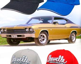 Chevelle By Chevrolet Hat: HH #133 Chevy Malibu SS 396 454 Yenko Motion COPO