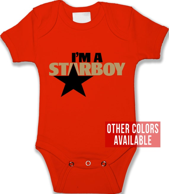 I m A Starboy Baby Bodysuit Uni Baby Clothes Boy