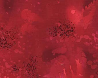 Benartex - Fossil Fern - True Red  - 528 49