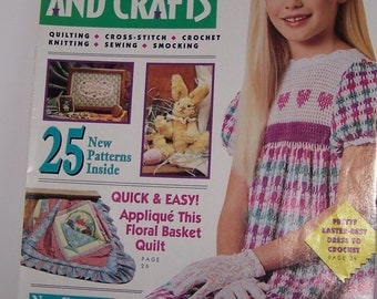McCall's Needlework And Crafts April 1992