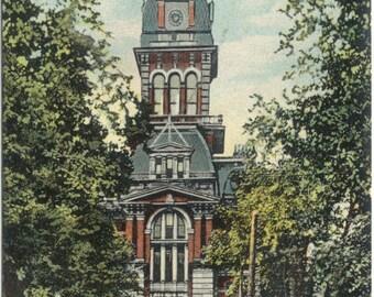 Beaver County Court House BEAVER PA Antique 1908 Postcard Post Card