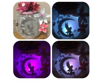 Fairy Jars, Decorative jars, Personalised Gifts, Gifts, Gifts for Girls, Magical Gifts, Pretty Gifts, home decor, glass jar, paper flowers