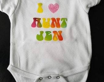 Made to Order Personalized Onesie