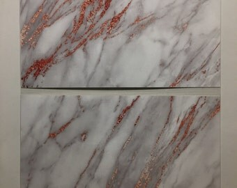 Grey and Rose Gold Marble TN Dashboard