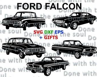 Ford Falcon U2013 Ford Svg   Falcon Svg   Ford Ranchero   Ford Futura   Car