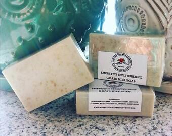 Emersyn's Moisturizing Goats Milk Soap