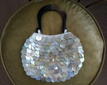 Vintage Atmosphere Mother of Pearl Purse