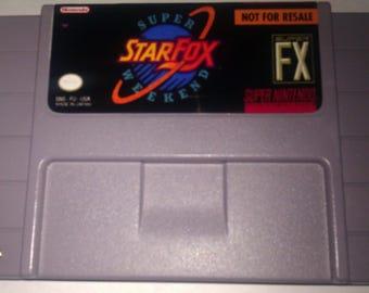 Star Fox: Super Weekend SNES (NTSC-US)