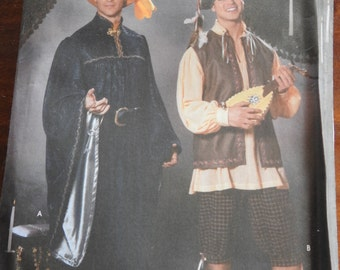 Simplicity 5925 Men's Renaissance Costume Sewing Pattern