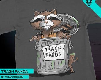 Rocket Raccoon Guardians of the Galaxy T-Shirt - Trash Panda
