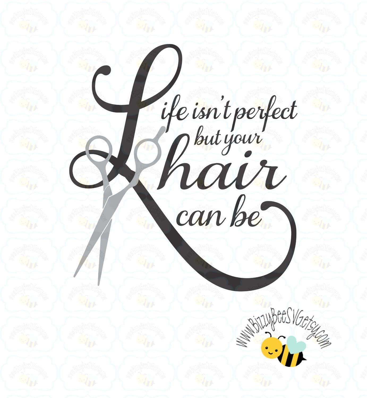 Hair stylist christmas ornaments - Hair Svg Dxf Eps Cut File Hairdresser Svg Beauty Svg Wall Vinyl Design Life