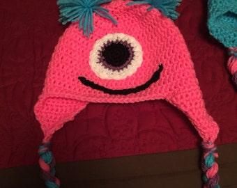 Crocher Monster hat