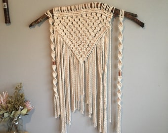 Diamond Macrame Wallhanging