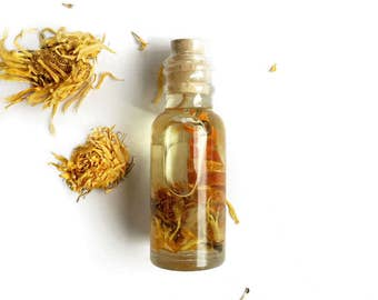 CREATIVITY OIL, Essential Oil Blend. Enhances Creativity & Imagination! Infused with Organic Herbs and Citrine Crystal. All Natural.