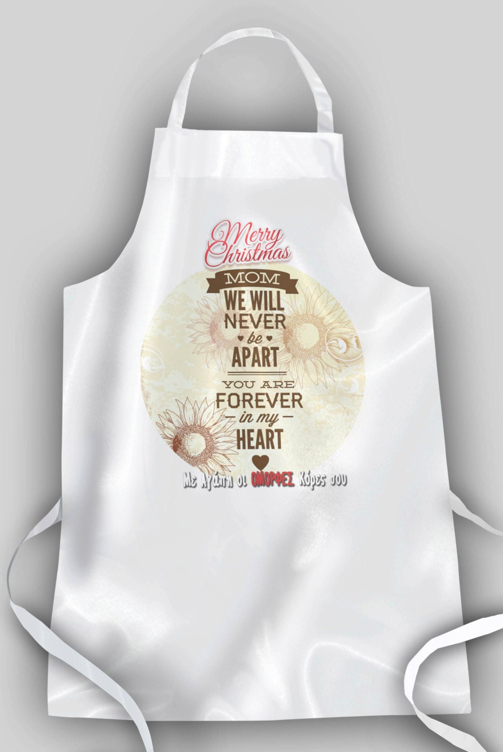 Custom Apron Personalized Aprons Gifts For Mom Gift Ideas