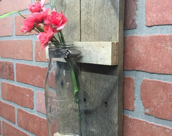 Rustic Coke Bottle, wall decor