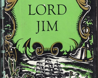 Vintage 1920 Lord Jim By Joseph Conrad   First Edition  Hard Cover