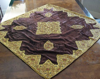 "Viscose Velvet Table Cover 40"" x 40"""