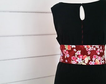 Obi Belt Women's Belt Australian Made Accessories Japanese Cotton Belt Wrap Belt Waist Cincher Waist Slimmer Reversible Belt Plus Size Belt