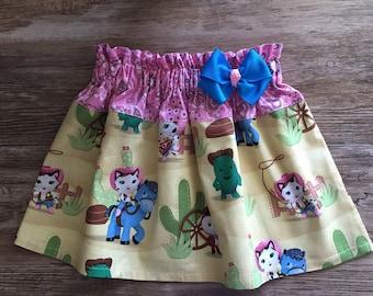 Sheriff Callie Skirt, Sheriff Callie The Cat Skirt, Callie The Sheriff Skirt