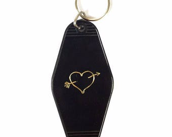 Heart of Gold Key Tag
