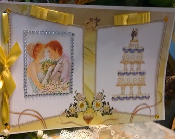 Guest Book or book of Dedications Marriage