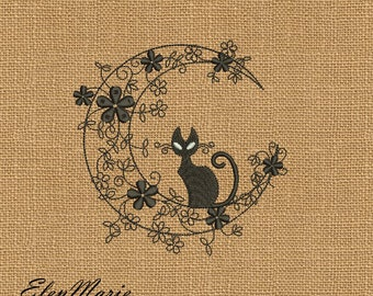 Kitty - Machine Embroidery Design