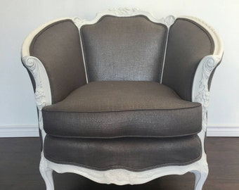 Shabby Chic French Roccoco Arm Chair