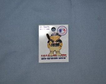 Lil' Sports Brat Baseball Pin, genuine MLB merchandise