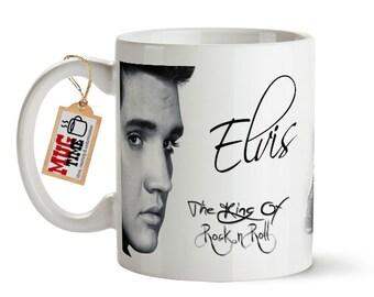 Elvis Presley - The King of Rock & Roll - Mug Cup