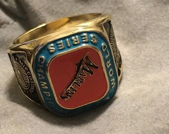 RARE COLLECTIBLE Florida Marlins 2003 World Series Replica Ring