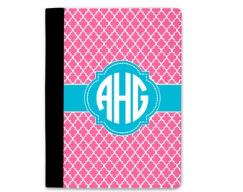Monogram Portfolio   Personalized Notebook Cover   Portfolio Notebook   Graduation Gift   Personalized School Supplies   Personalized Gift