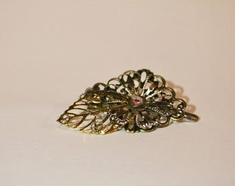 Victorian Flower Hairpin