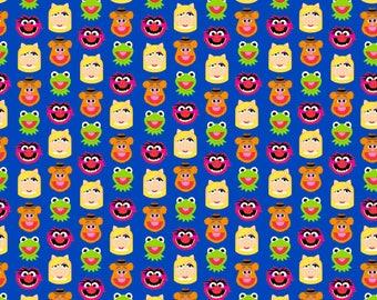 Disney Muppets Emoji Cotton fabric
