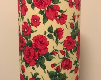 Vintage Style Roses Lampshade