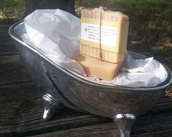Patchouli mint goats milk soap