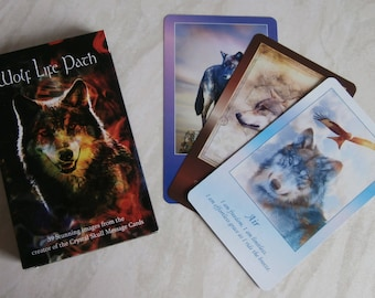 Wolf Life Path Card Reading By Phone